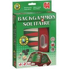 Jumbo 19508 backgammon en solitaire reisspel.