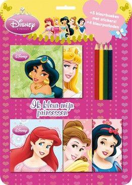 Disney Princess Kleurset