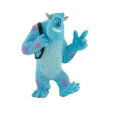 Bullyland figuur sully van monster en co.8 cm groot.