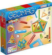 Goemag confetty 50 delig magneten bouwdoos.