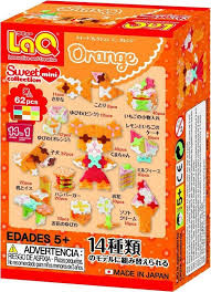 LaQ sweet collection orange .