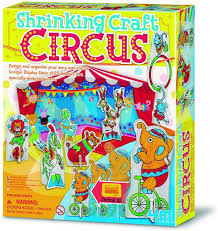 4M circus speelset met krimp folie.