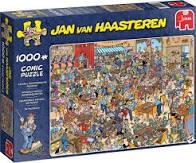 Jumbo puzzel Jan van Haasteren nk puzzelen 1000 stukjes.
