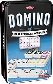 Tactic Domino spel in blik.double nini.