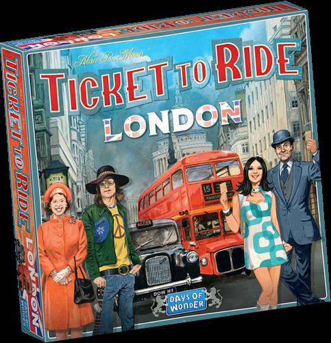 Ticket to ride London, days of wonder.