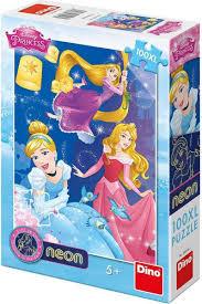 Disney princess neon 110 xl stukjes.
