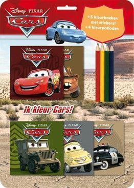 Disney Cars Kleurset