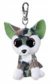 Lumo Wolf Woody met clip - Mini - 8,5cm