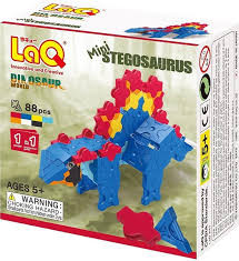 LaQ mini Stegosaurus dinosaur world.