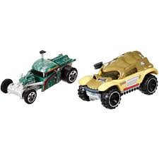 Hot Wheels Star Wars Boba Fett & Bossk Character Car 2-pack