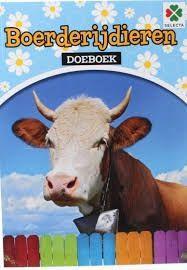 Boerderijdieren Doeboek