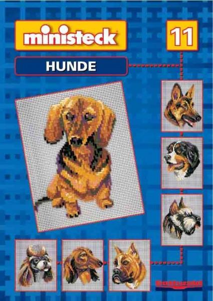 Ministeck Voorbeeldenboek nr 11 Honden