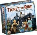 Ticket to Ride Rails & Sails - Bordspel