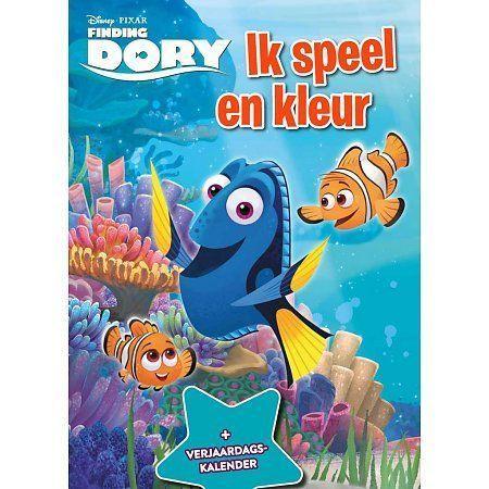Disney finding Dory ik speel ik kleur boek