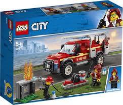 LEGO City Reddingswagen van Brandweercommandant