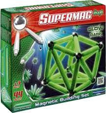 Supermag maxi glow 44 delige magnetenset.
