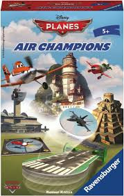 Ravensburger disney planes ir champion pocket spel.