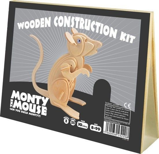 Animal Construction Monthy The Mouse