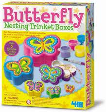 4m butterfly sieraden doosjes maken .