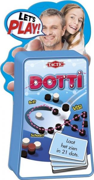 Tactic speldotti, laat het zien in 21 dots!