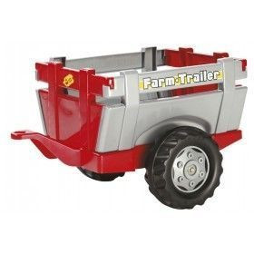 Rolly Toys Rolly Farm Trailer Rood
