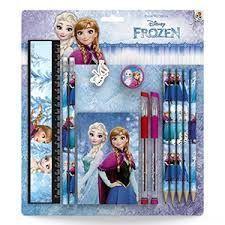 Frozen schrijset 13 delig.