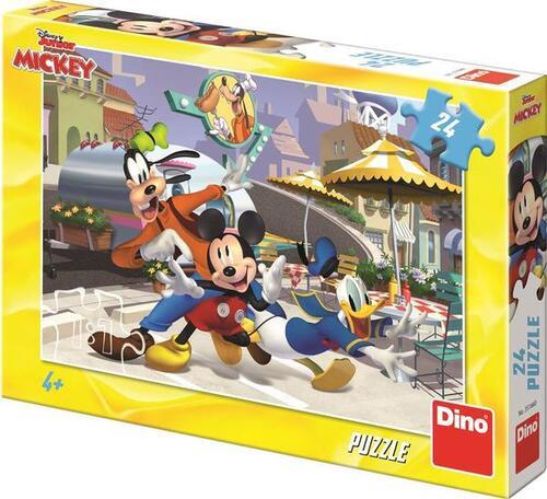 Dino Disney Mickey Puzzel 24 Stukjes