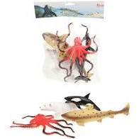 Oceaan dieren 5 stuks in zak.