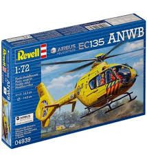 Revell Airbus ec135 ANWB helicopter