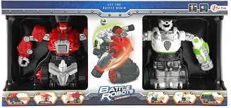 2 Robots let the battle begin.