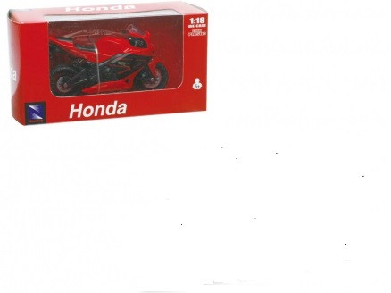 New ray miniatuur motor van een Honda. 1:18