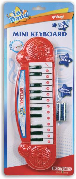 Bontempi mini keyboard op batterijen.23 demo's