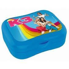 K3 lunchbox blauw.