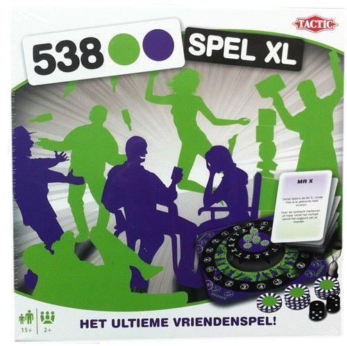 Tactic 538 Spel XL