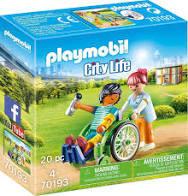 PLAYMOBIL City Life Patient in Rolstoel