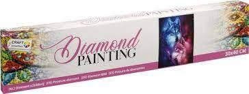 Diamond Painting Wolven 30 x 40 CM