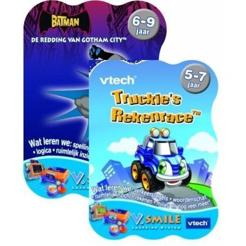 Vtech V.Smile Duo Game Batman en Truckie