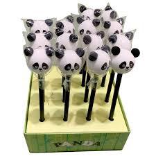 Potlood met Panda Gum