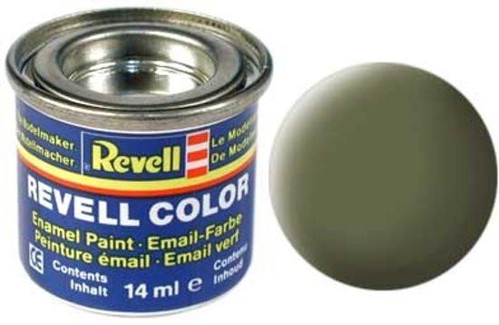 Revell verf voor modelbouw mat donkergroen nr 68