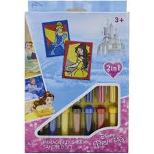 Disney princess zandschilderen.