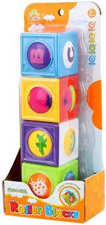 Jonotoys roller blocks 4 stuks.