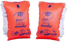 Bema zwem mouwtjes oranje 0/1 jaar