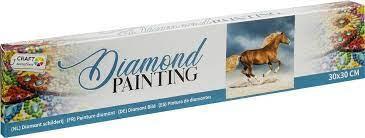 Diamond Painting Horse 30x30 cm