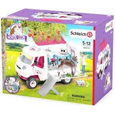 Schleich 42370 Mobiele dierenarts - Paard Speelfigurenset - Horse Club
