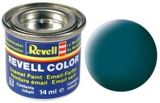 Revell verf voor modelbouw mat zeegroen nr 48