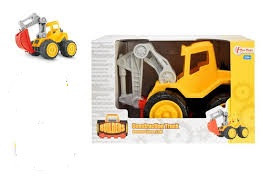 Cars en trucks Stevige graafmachine