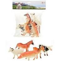Farm animals 5 boerderij dieren in zak.