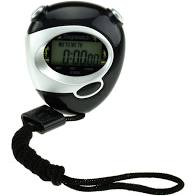 Toi-toys stopwatch zwart.