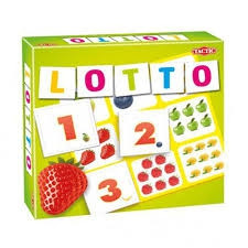 Selecta tactic lotto spel fruit en tellen 52677