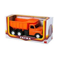 Tatra betonwagen oranje.